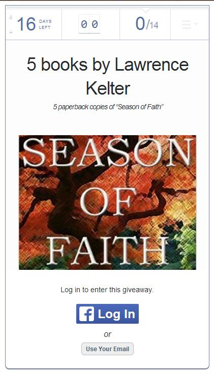 rafflecopter, season of faith